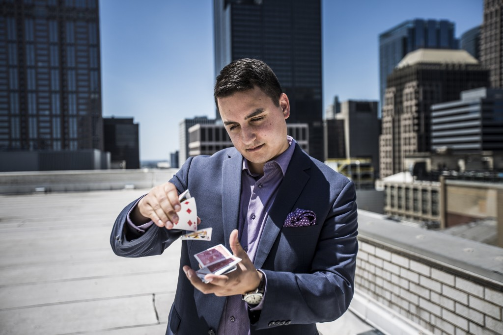 Photo of Chicago Magician David Ranalli 1