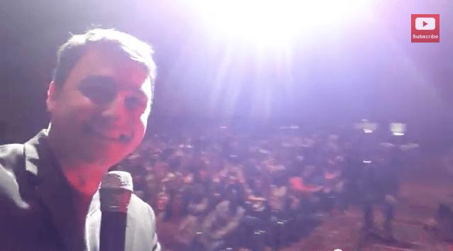 indianapolis magician david ranalli on stage