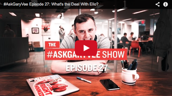 chicago magician david ranalli's question is answered on the #askgaryvee youtube show