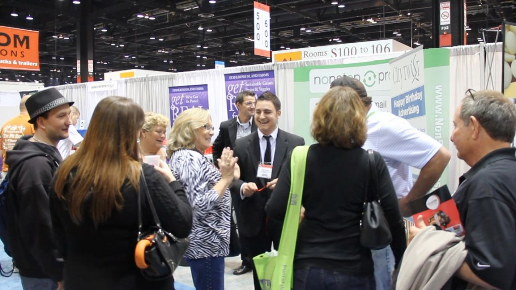 David Ranalli is a trade show magician and presenter. He provides entertainment at trade shows