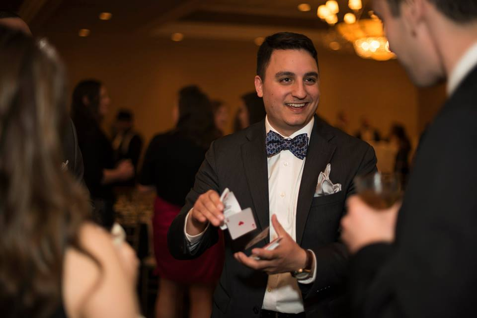 This is a Photo of Chicago Magician David Ranalli