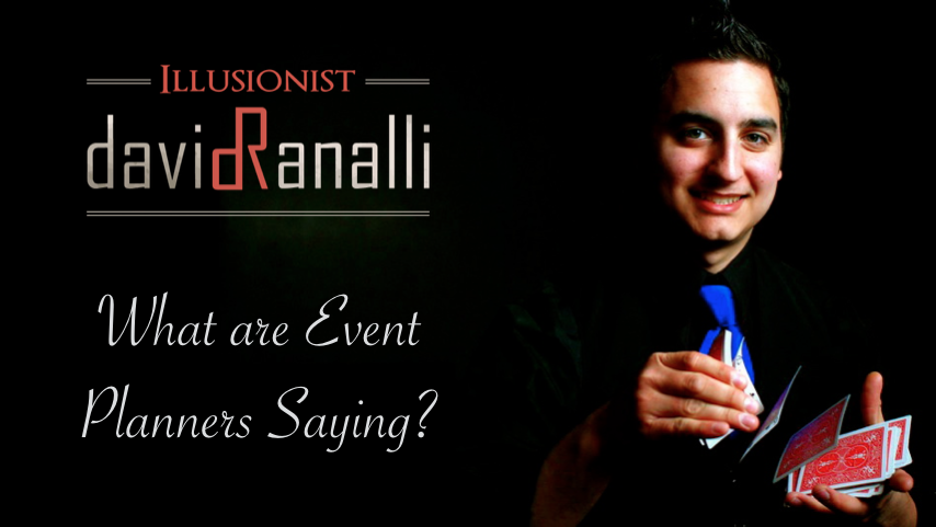 Watch Reviews for Chicago corporate magician David Ranalli