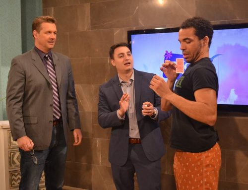 David Ranalli on Indy Style TV Again with Hypnotist Chris Jones