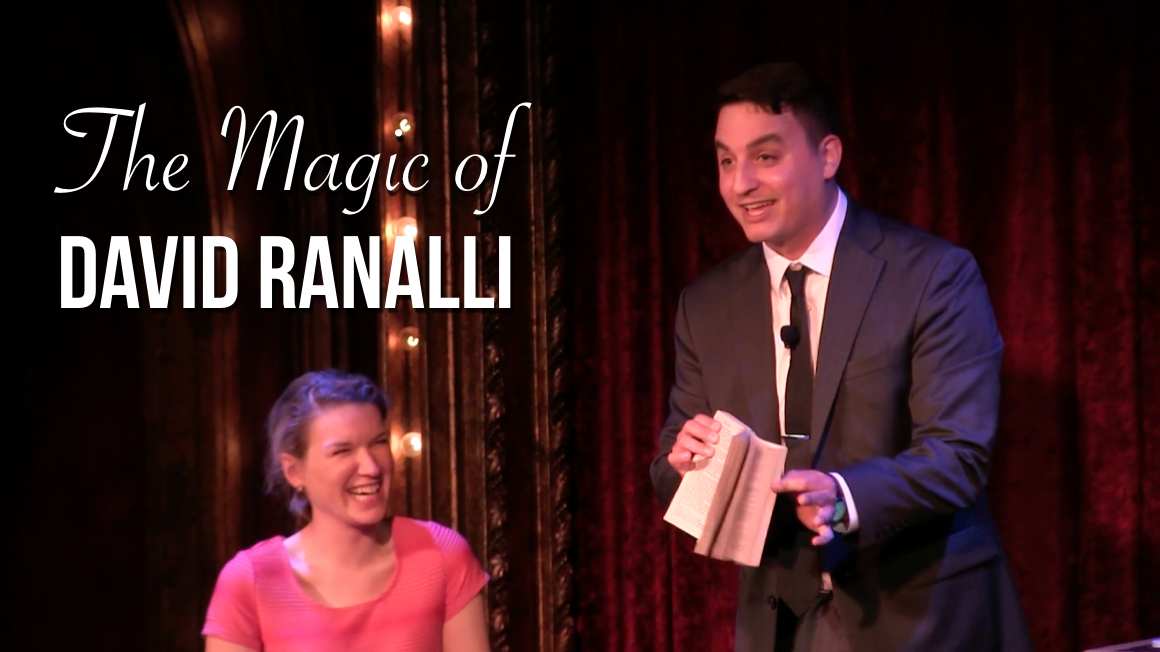 Video Thumbnail of Chicago Corporate Magician David Ranalli
