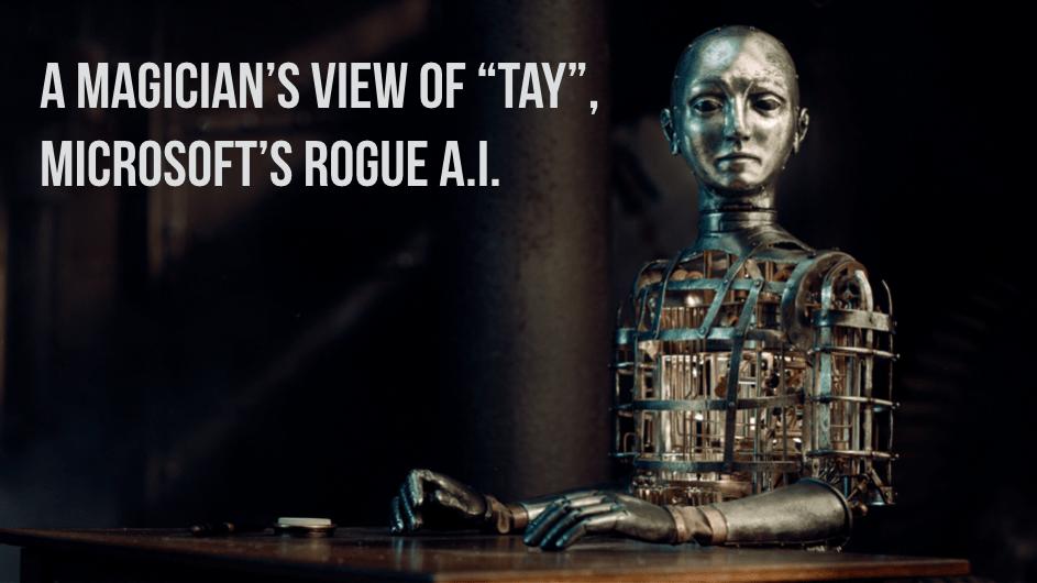Magician David Ranalli describes his view of Tay