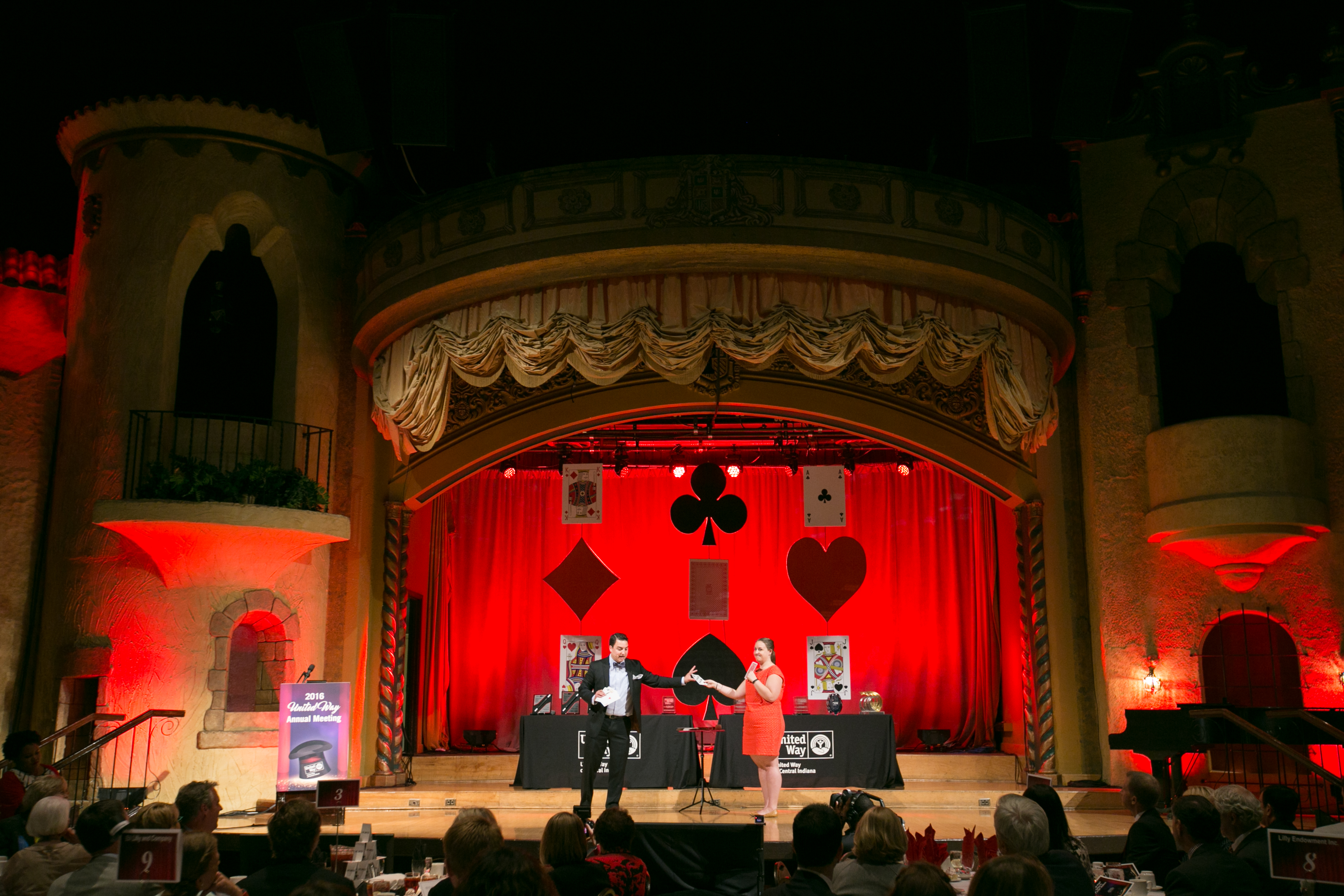 Corporate Event Magician David Ranalli on stage