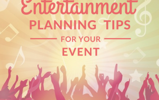 Corporate Entertainment Planning Tips