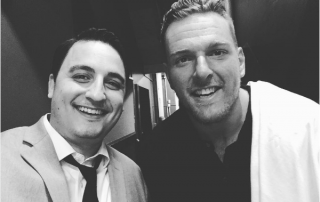 David Ranalli was the magician featured with Pat McAfee at Cracking Up for Kokomo