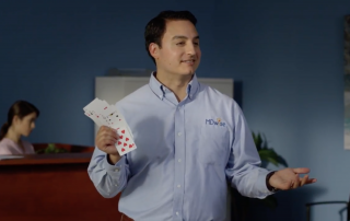 Magician David Ranalli in MDwise Commercial