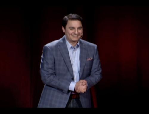 David Performs Magic at Tedx Conference
