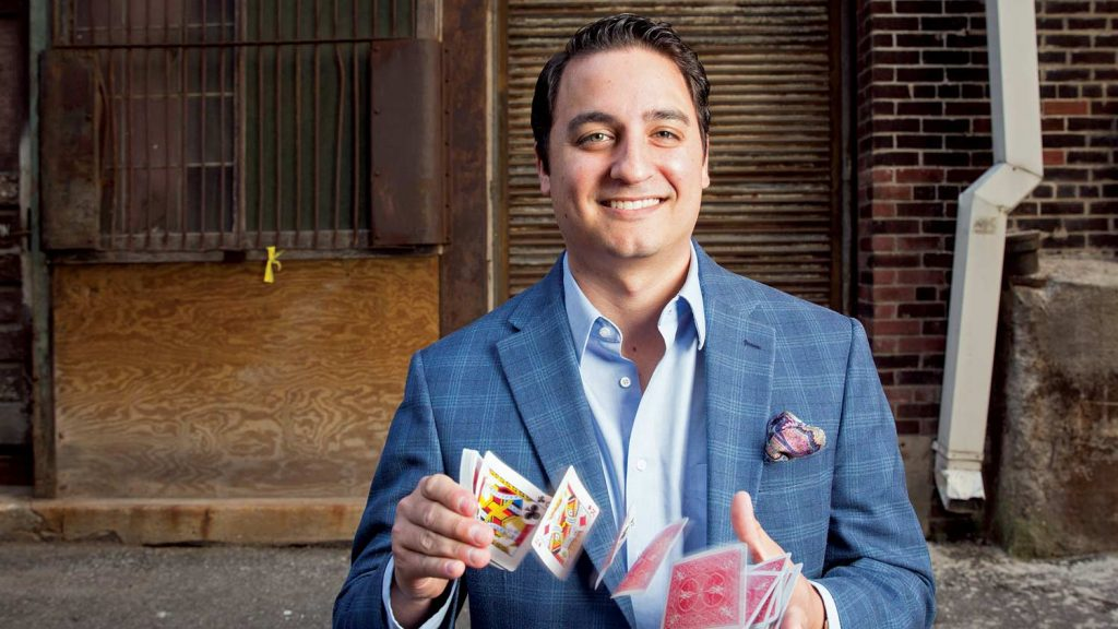 David Ranalli is a corporate magician for hire