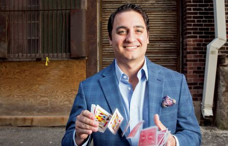 David Ranalli is a corporate magician for hire