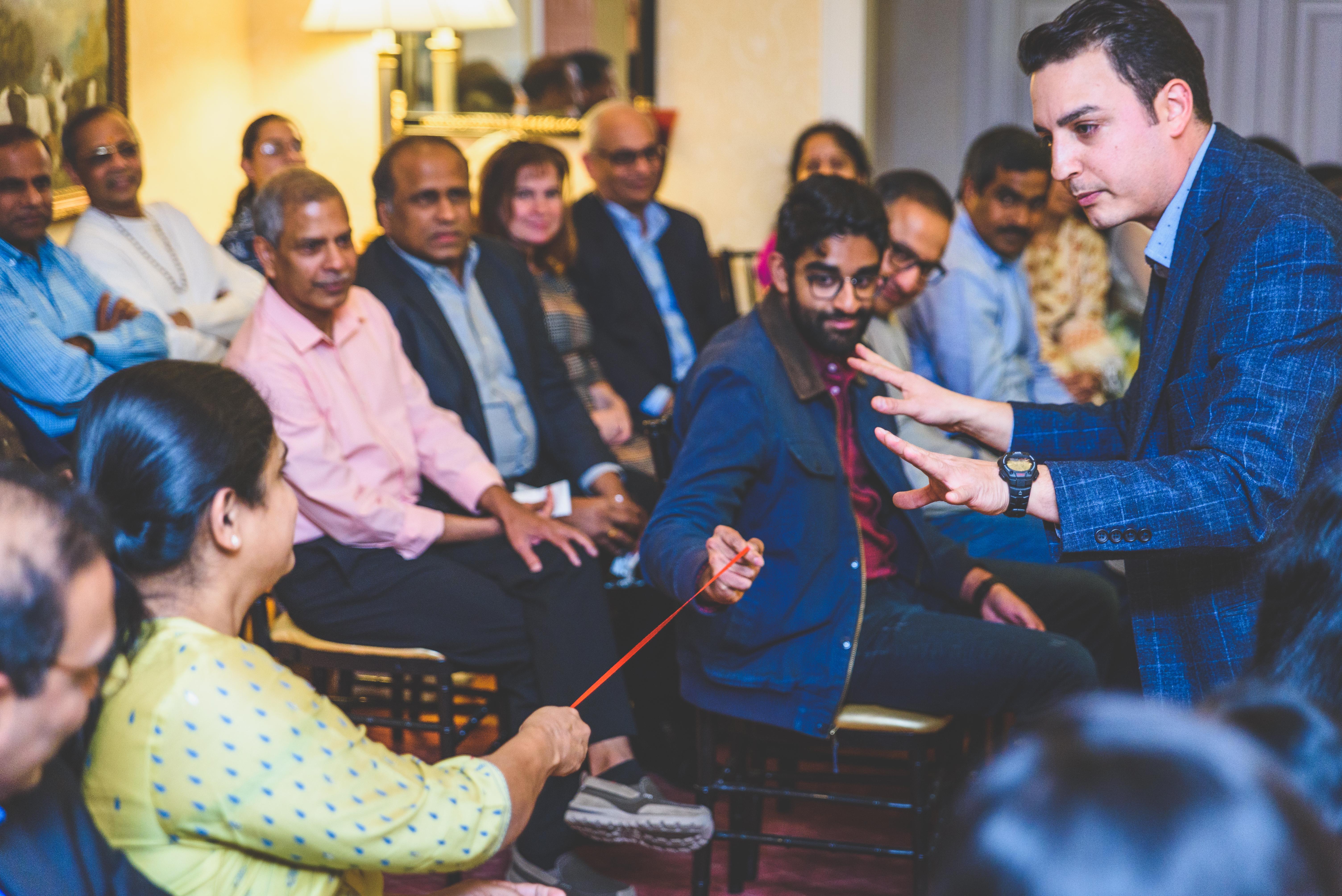 Indian Wedding Magician David Ranalli