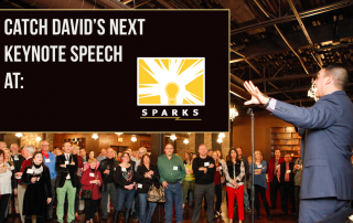 sparks talk keynote speaker magician