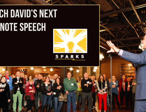 Watch David's Keynote Speech at Sparks Talk on April 10, 2019