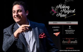 Making Magical Music Show David Ranalli Magician