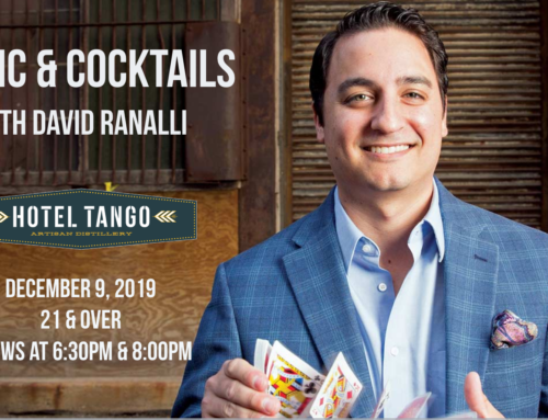 Magic and Cocktails at Hotel Tango