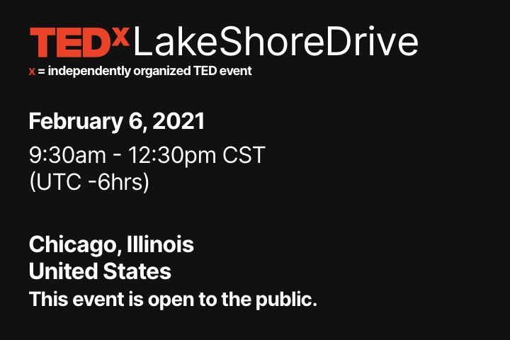 David Ranalli speaks at TedXLakeShoreDrive