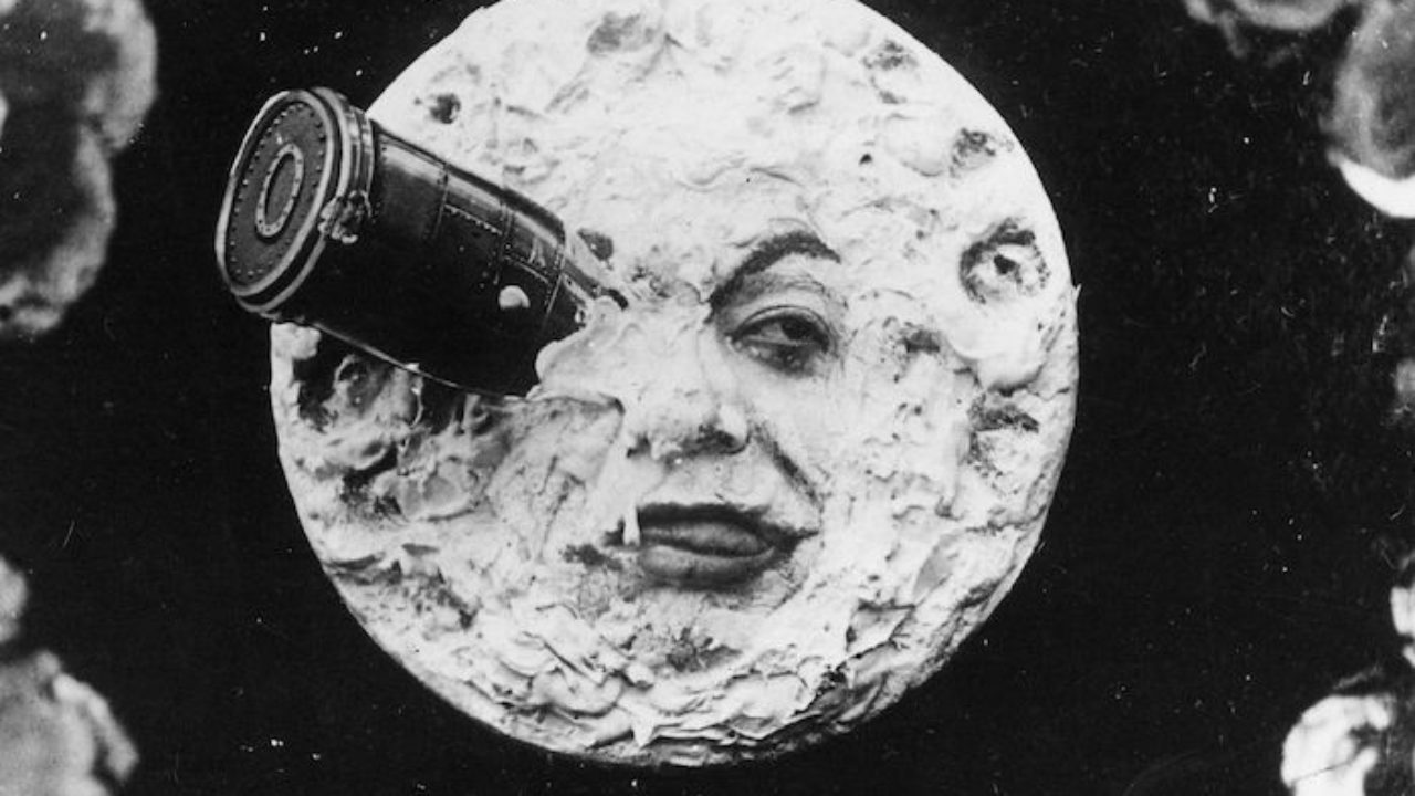 a trip to the moon directed by a magician