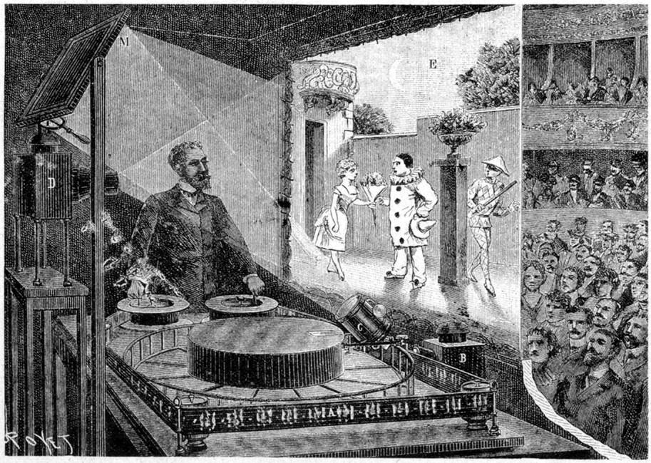 Raynaud's Optical Theatre Magic Show