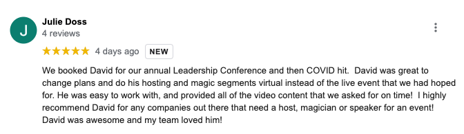 Virtual Magician David Ranalli