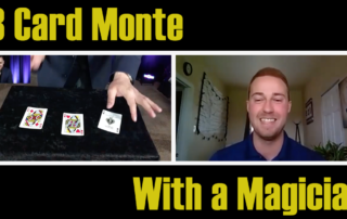 David Ranalli shows how magicians play 3 Card Monte on Zoom