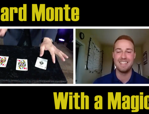 How Magician's Play 3 Card Monte
