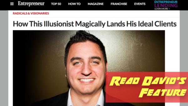 Magician Keynote Speaker